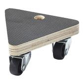 Handson meubeltransporter multiplex driehoek 13x13x13 cm met antislip max. 50 kg