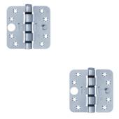 AXA Easyfix veiligheidsscharnier schijflager SKG 3-sterren 89x89 mm (2 stuks)