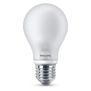 Philips LED klassiek E27 5W (=40w) 2 stuks