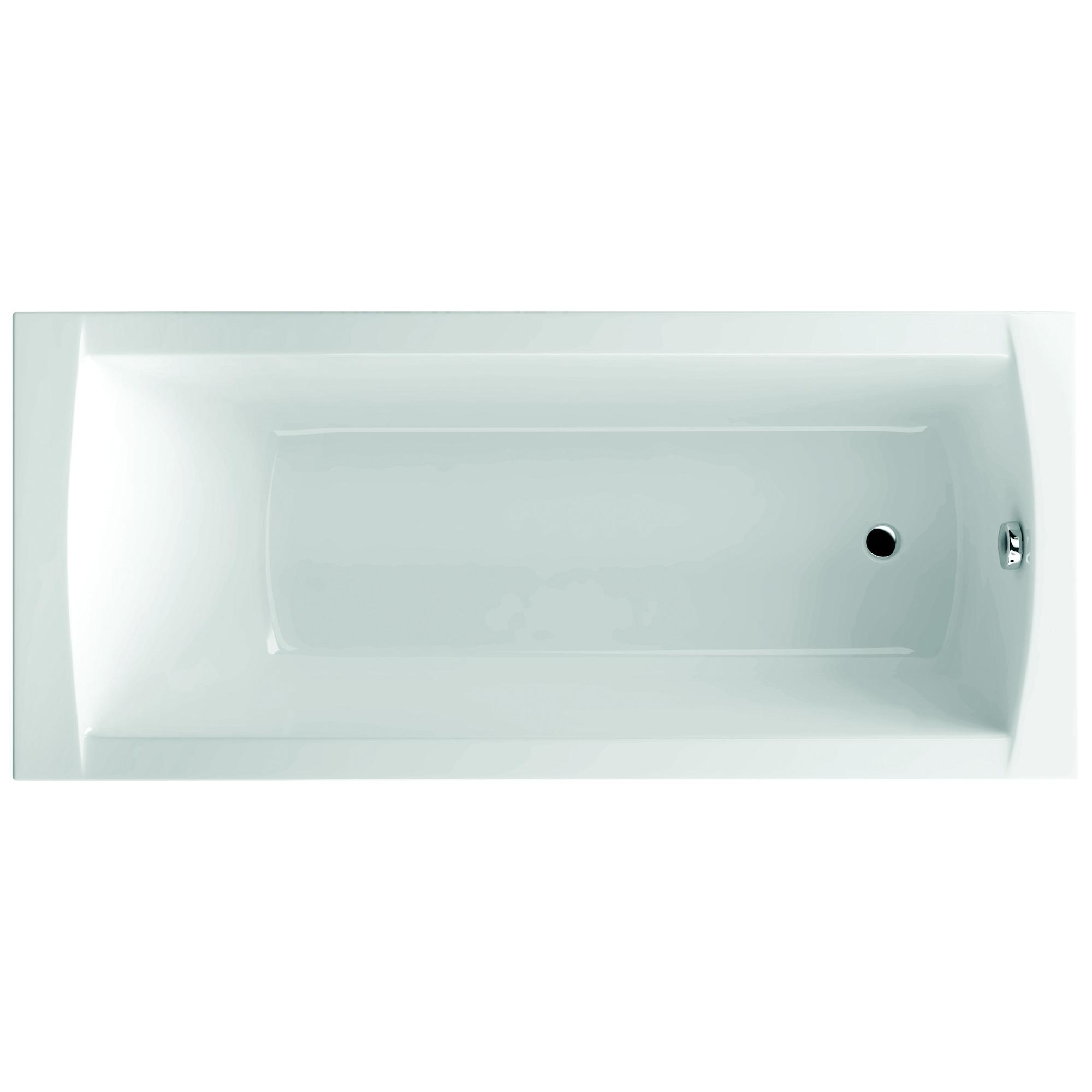 Sealskin Get Wet Trend Bad rechthoek 160x70cm wit