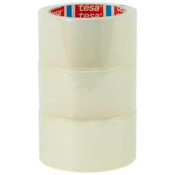 Tesa Pack verpakkingstape 66mx50mm 3 stuks transparant