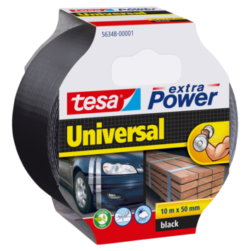 Tesa Extra Power reparatietape 10mx50mm zwart