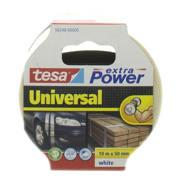 Tesa Extra Power reparatietape 10mx50mm wit