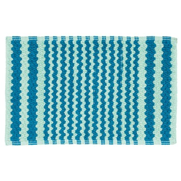 Sealskin Motif badmat aqua 50x80 cm