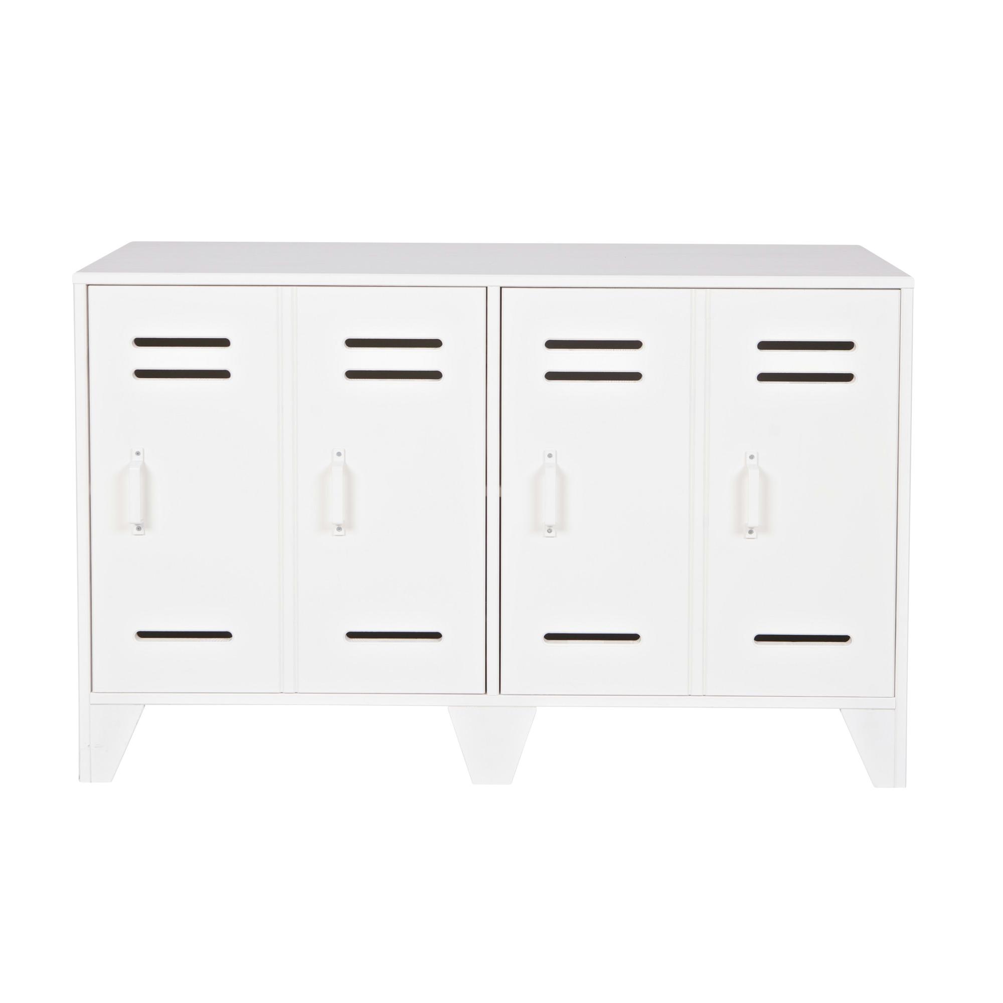 Woood cabinet Stijn white