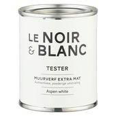 Le Noir & Blanc muurverf extra mat aspen white 100 ml