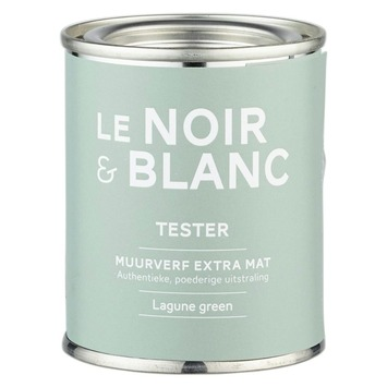Le Noir & Blanc muurverf extra mat lagune green 100 ml