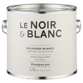 Le Noir & Blanc muurverf nuance wheatgrass grey 2,5 l