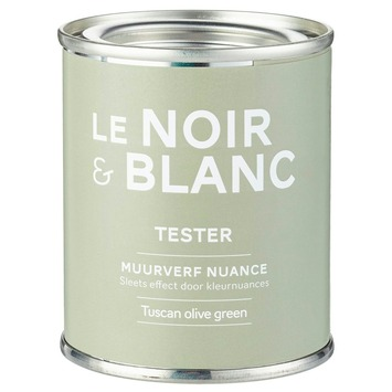 Le Noir & Blanc muurverf nuance tuscan olive green 100 ml