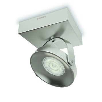 Philips plafondspot Spur - Incl 1X LED 4,5W WarmGlow dimbaar