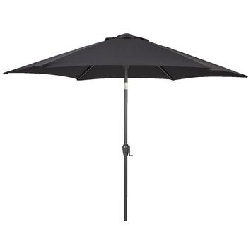Parasol Lombok zwart d270 cm
