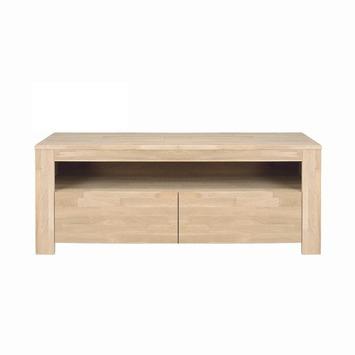 WOOOD tv meubel Lars eiken 120x45x47 cm met 2 laden