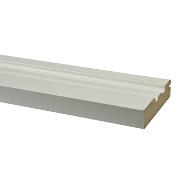 CanDo lambriseringsplint wit 300 cm