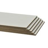 CanDo traprenovatie stootbord wit 130x20 cm (5 stuks)