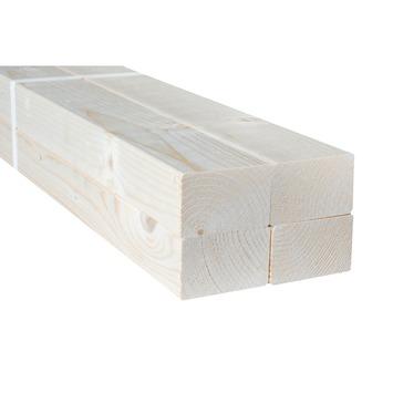 Bouwhout vuren geschaafd 44x69 mm; lengte 210 cm (4 stuks)