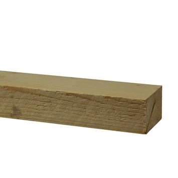 Bouwhout vuren ruw 32x50 mm; lengte 210 cm (6 stuks)