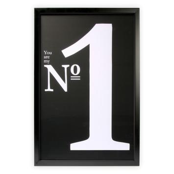 Print in frame - NO. 1 60x40 cm