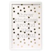 Print in frame - Throw confetti 60x40 cm
