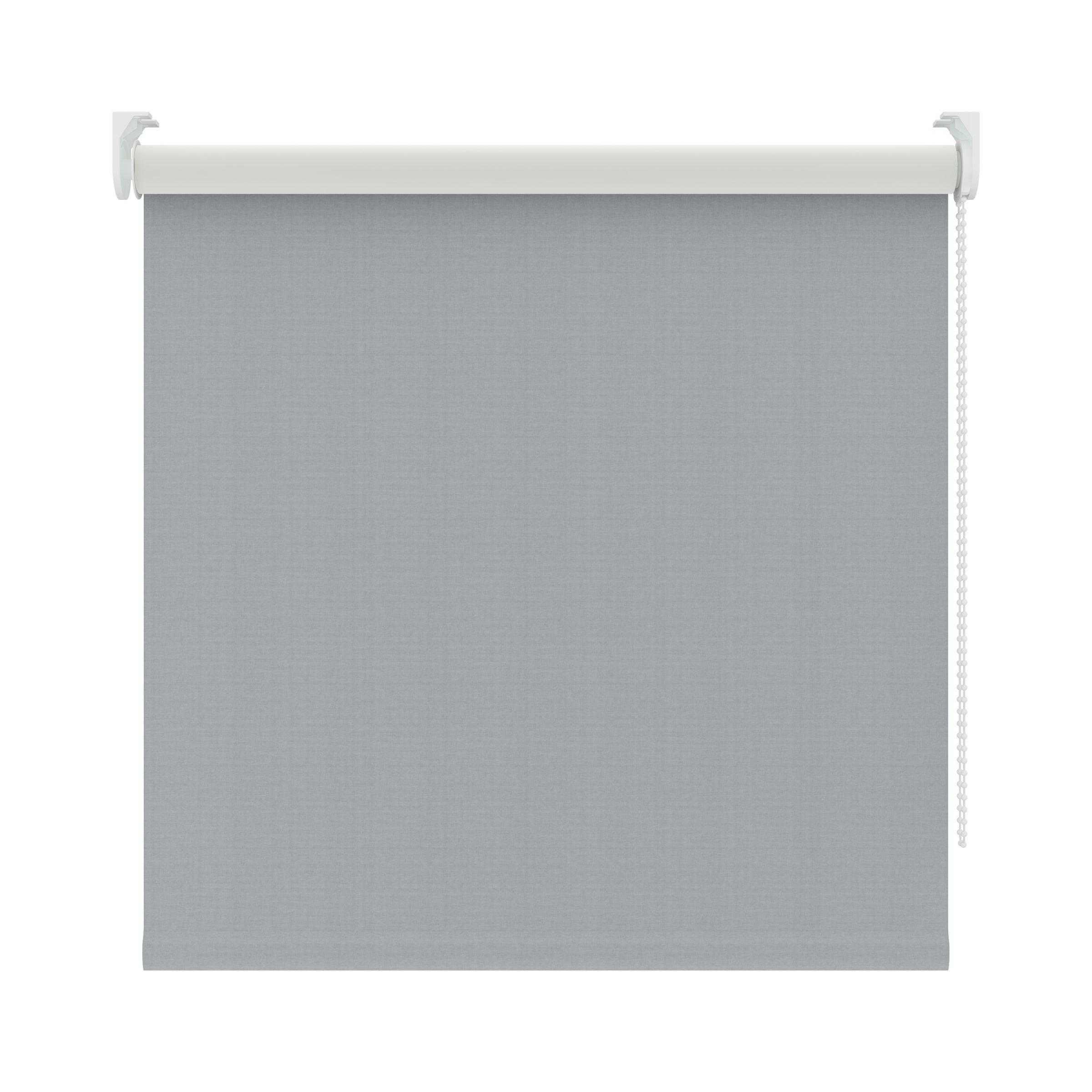 KARWEI rolgordijn verduisterend grijs (1337) 90 x 190 cm
