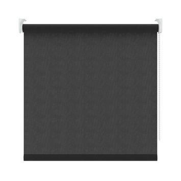 KARWEI rolgordijn zwart (1305) 150 x 190 cm (bxh)