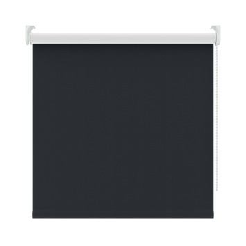 KARWEI rolgordijn verduisterend zwart (5098) 210 x 190 cm (bxh)
