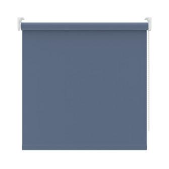 KARWEI rolgordijn verduisterend grijsblauw (5758) 90 x 190 cm