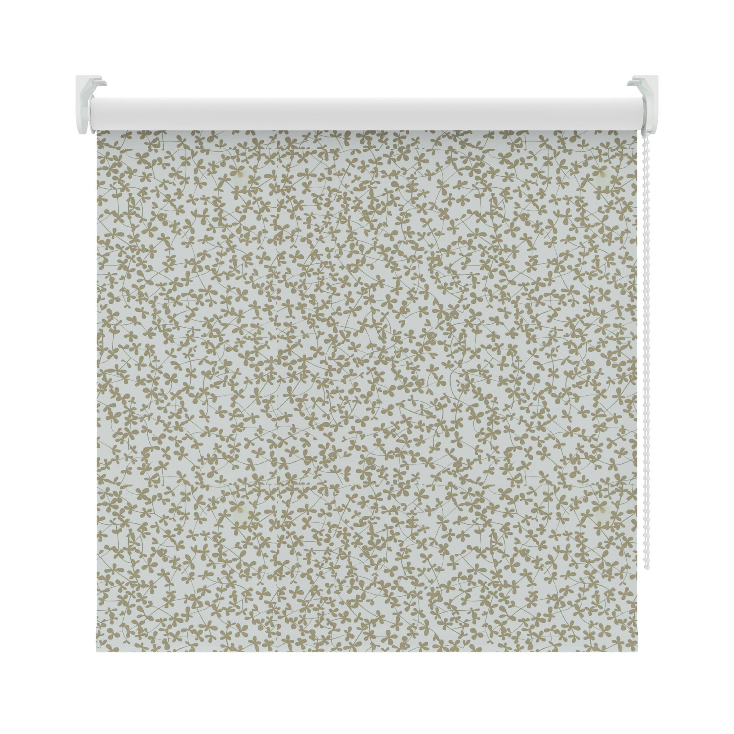 KARWEI rolgordijn bloemen taupe (3634) 150 x 190 cm   Rolgordijnen   Raamdecoratie   KARWEI