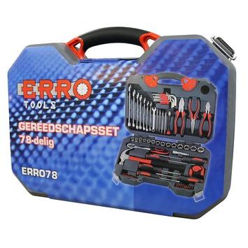 ERRO gereedschapskoffer (78-delig)