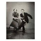 Dancing metal 40x30 cm