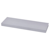 Handson zwevende wandplank aluminium 60 cm
