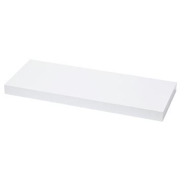 Handson zwevende wandplank wit 60 cm kopen panelen karwei for Zwevende plank karwei