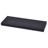 Handson zwevende wandplank zwart 60 cm