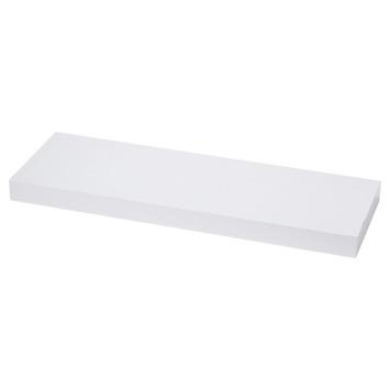 Handson zwevende wandplank wit 120 cm kopen panelen karwei for Zwevende plank karwei