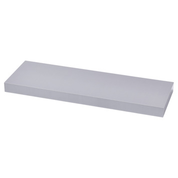 Handson zwevende wandplank aluminium 80 cm