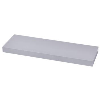 Handson zwevende wandplank aluminium 120 cm