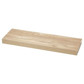 Handson zwevende wandplank eiken 120 cm kopen panelen for Zwevende plank karwei