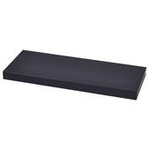 Handson zwevende wandplank 38 mm zwart 23,5x23,5 cm