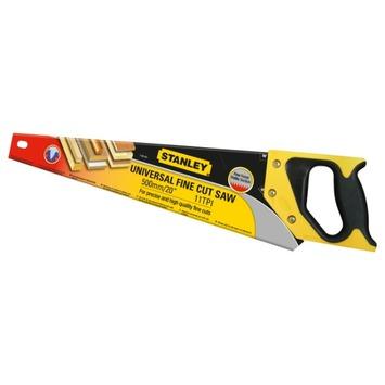 Stanley handzaag Universal Fine Cut 550 mm 11TPI