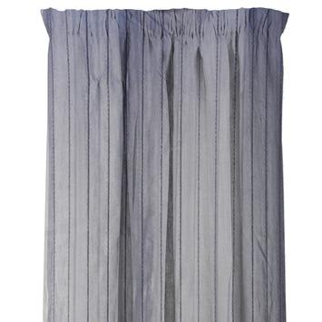 karwei kant en klaar gordijn streep grijs met streep 1094 140 x 280 cm