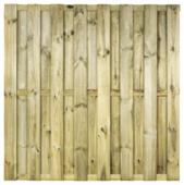 Schutting KARWEI grenenhout ca. 180x180 cm recht