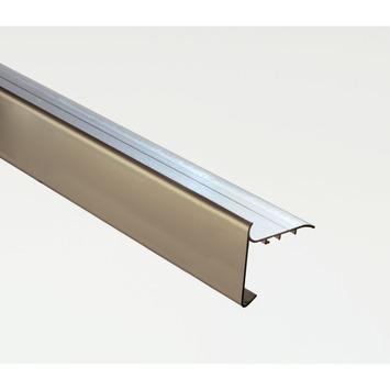 Aquaplan Dakrandprofiel Aluminium 60 mm x 45 mm 100 cm