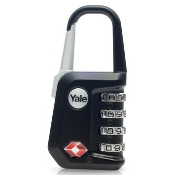 Yale Bagage Cijferhangslot Stalen Beugel TSA