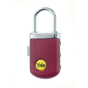 Yale Luxe Bagage Cijferhangslot Zwart