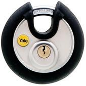 Yale hangslot TSA discus rvs 70 mm met gesloten beugel