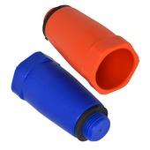 KARWEI afsluitplug rood + blauw