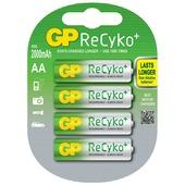 GP ReCyKo penlite batterij AA oplaadbaar (4 stuks)