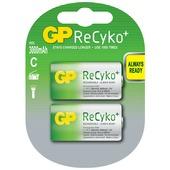 GP oplaadbare batterij recyko c 3000mah 2 stuks