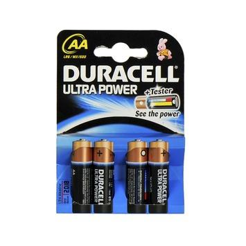 Duracell batterij aa penlite 4 stuks