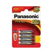 Panasonic Pro Power batterij AAA 1,5V (4 stuks)