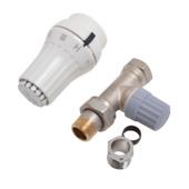 Danfoss thermostatische radiatorkraan recht